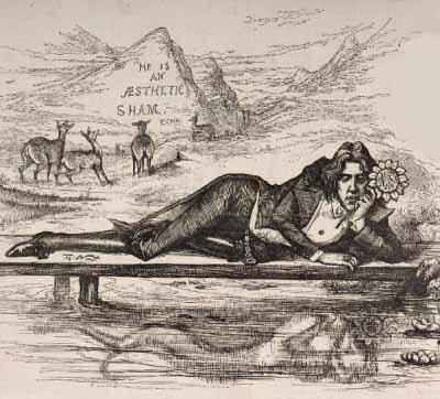 Oscar Wilde Profesor Estetika