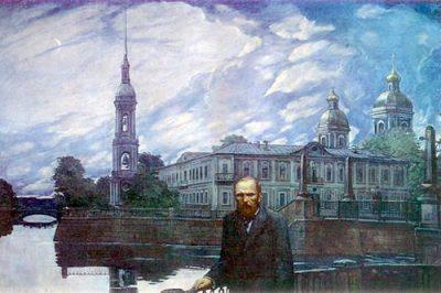 Penulis Rusia Fyodor Dostoevsky